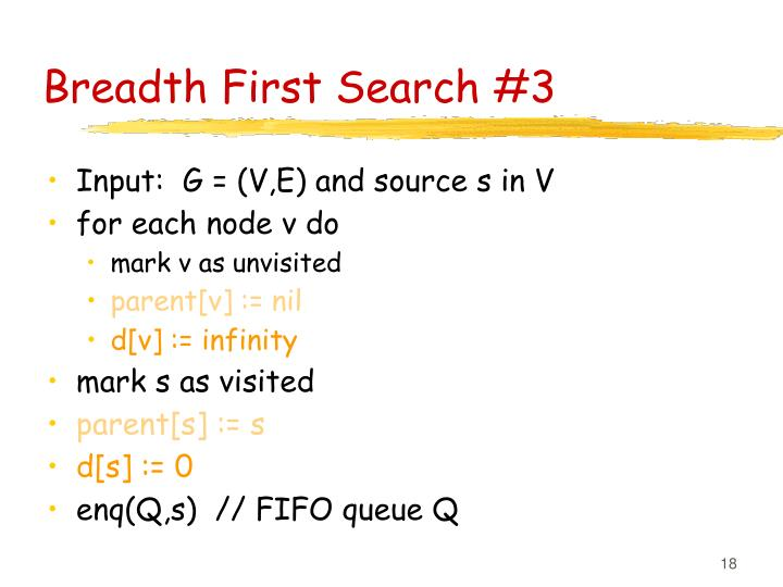 Breadth First Search #3