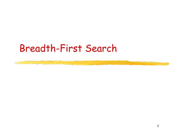 Breadth-First Search