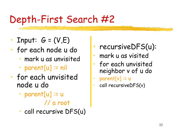 Depth-First Search #2