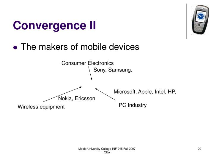 Convergence II