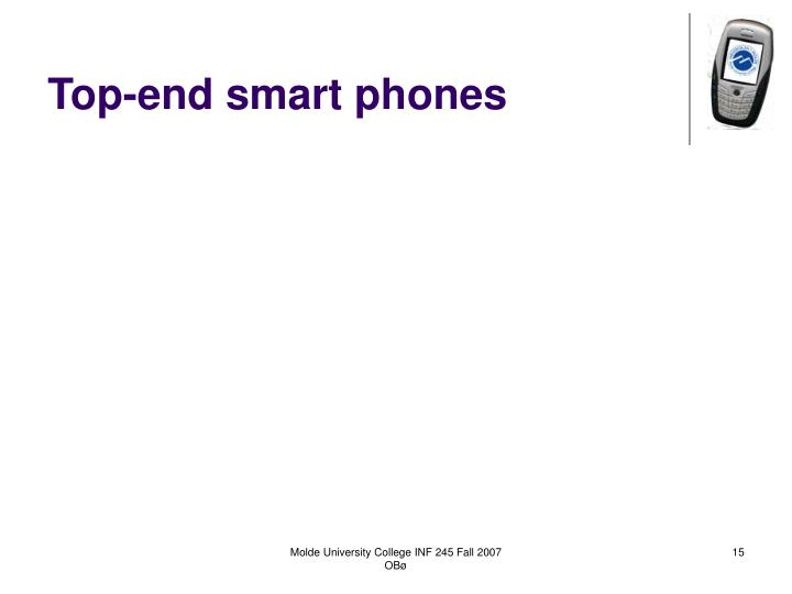 Top-end smart phones