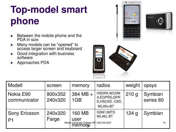 Top-model smart phone