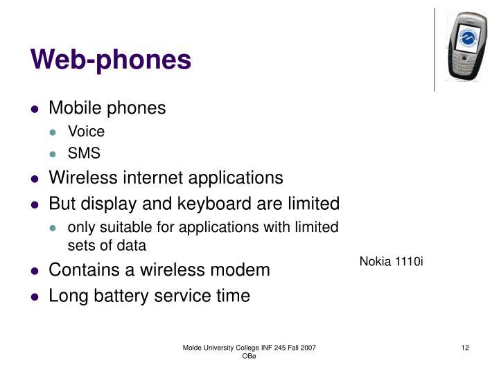 Web-phones