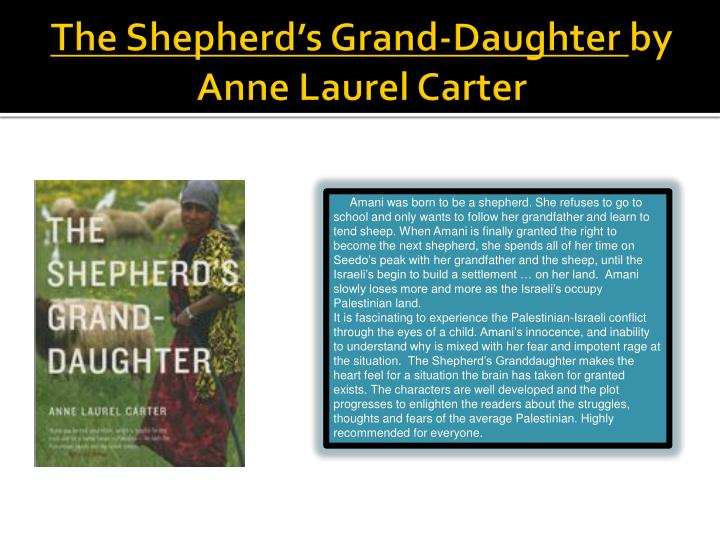 The Shepherd's Grand-Daughter