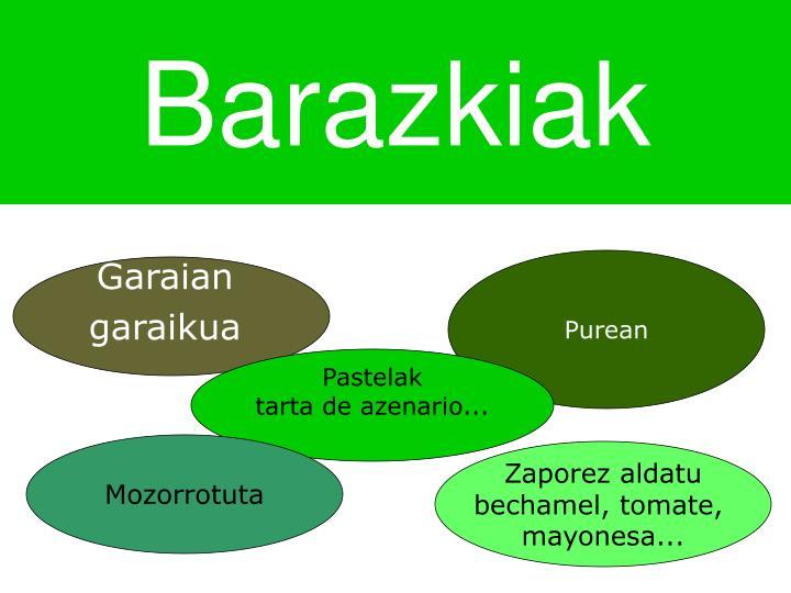 Barazkiak