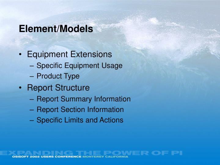 Element/Models