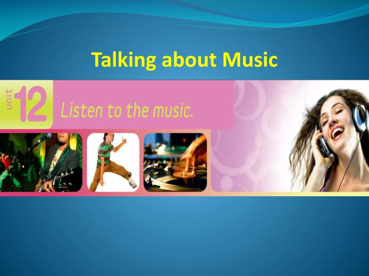 Talking about Music