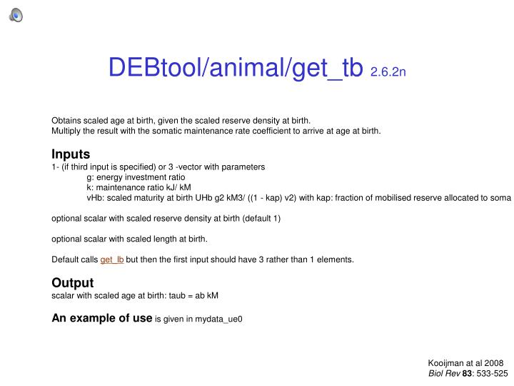 DEBtool/animal/get_tb