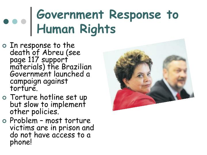 Government Response to Human Rights