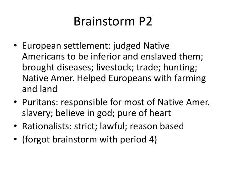 Brainstorm P2