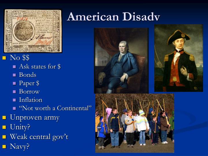 American Disadv