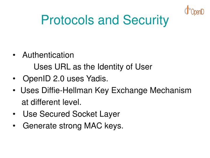 Protocols and Security