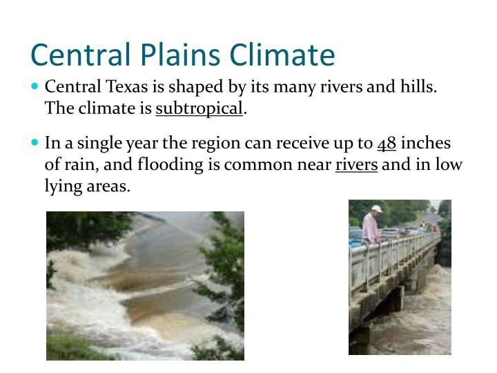 Central Plains Climate