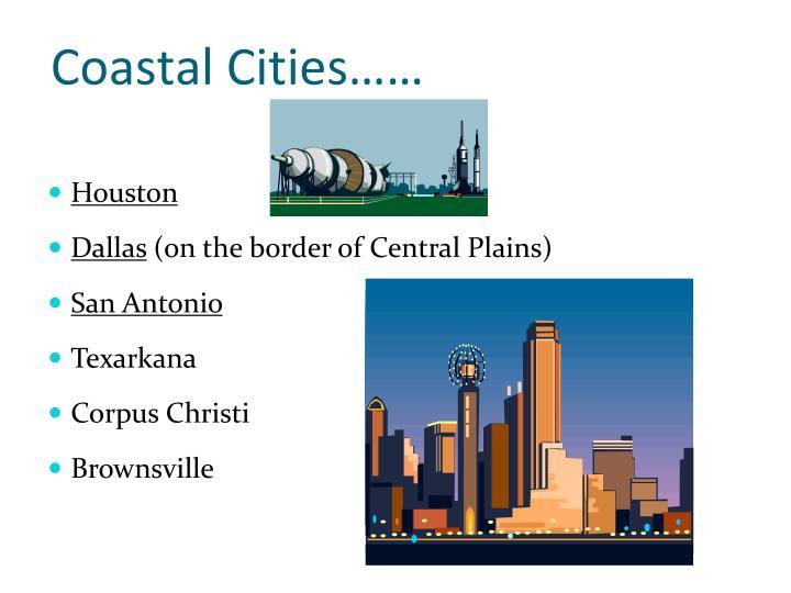 Coastal Cities……