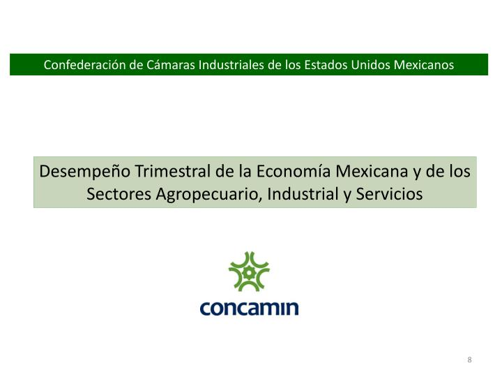 Confederación de Cámaras Industriales de los Estados Unidos Mexicanos