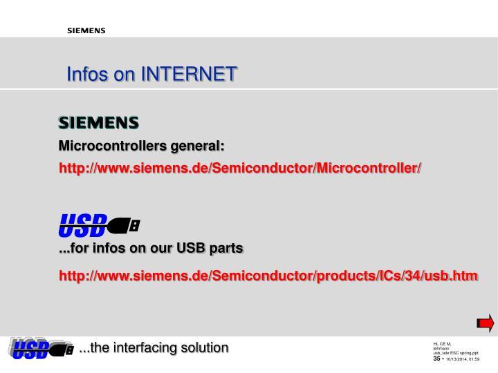 Microcontrollers general: