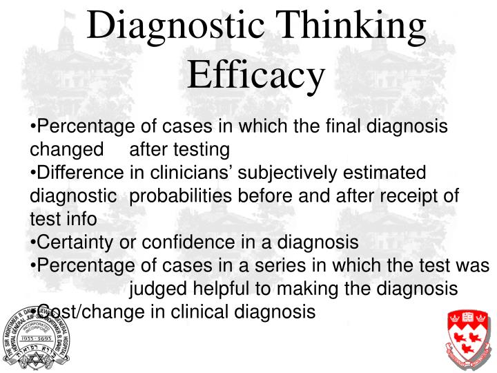 Diagnostic Thinking Efficacy