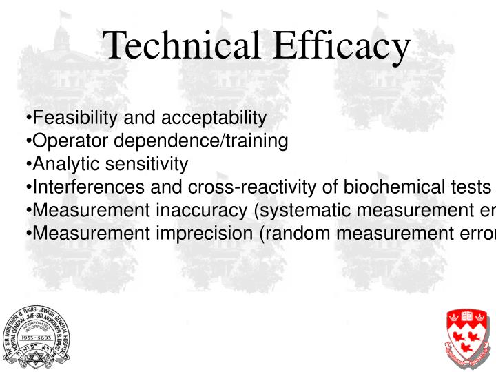Technical Efficacy