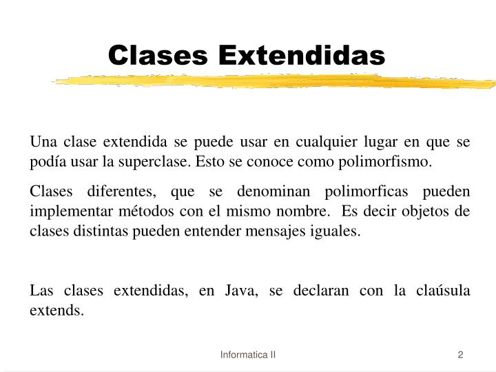 Clases extendidas1