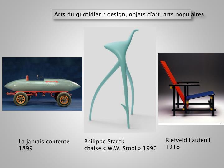 Arts du quotidien : design, objets