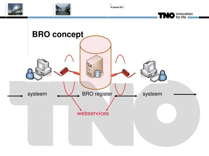 BRO concept
