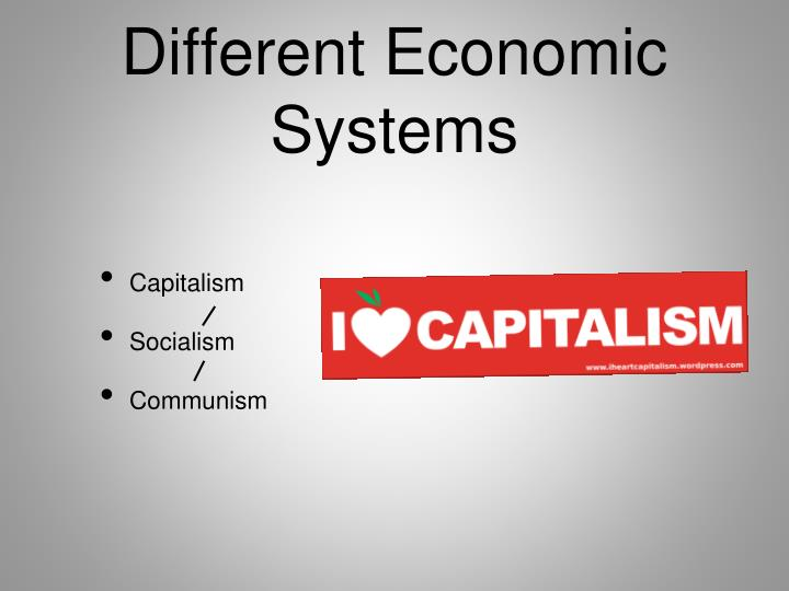 Different Economic Systems