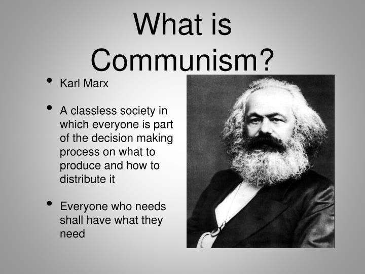 What is communism