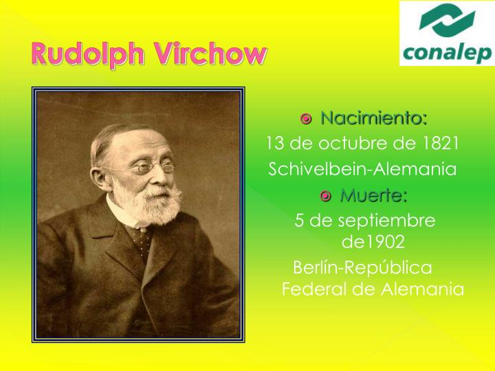 Rudolph Virchow