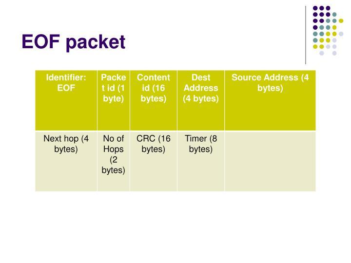 EOF packet