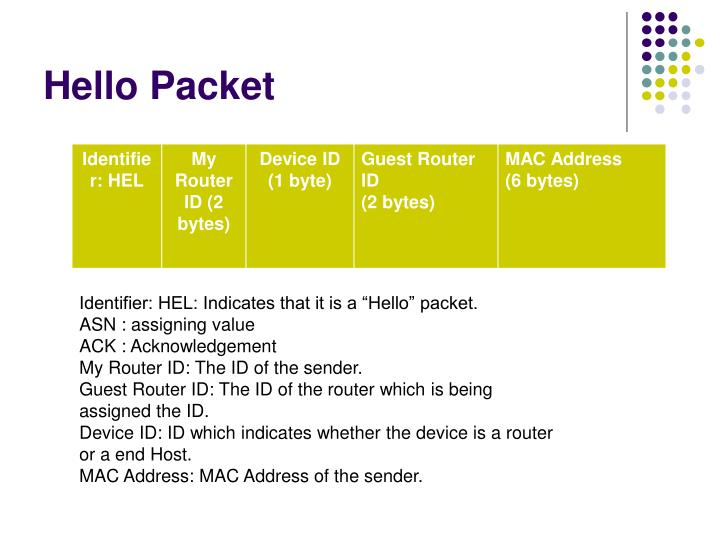 Hello Packet