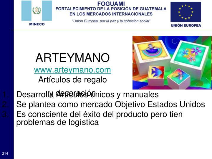 ARTEYMANO