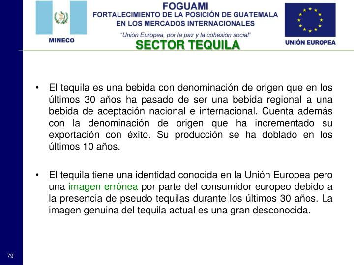 SECTOR TEQUILA