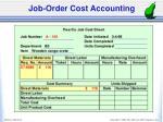 job order cost accounting1