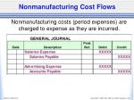 nonmanufacturing cost flows1