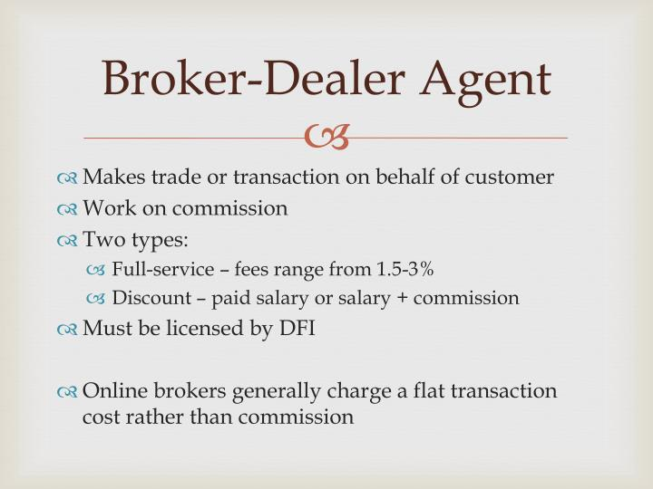 Broker-Dealer Agent