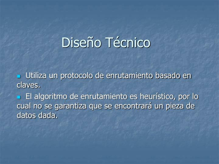 Diseo Tcnico