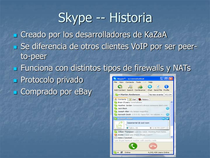 Skype -- Historia