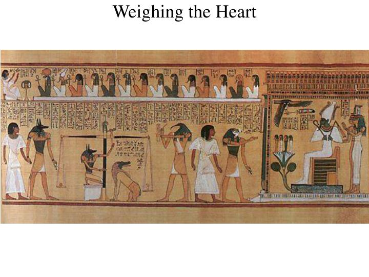 Weighing the Heart