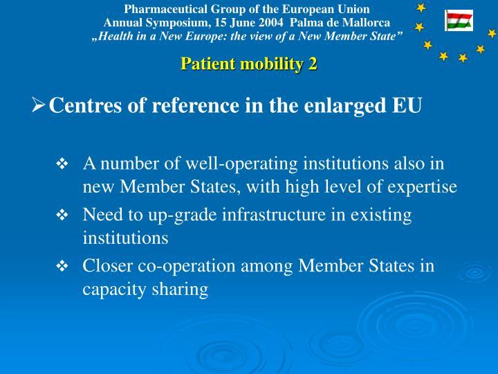 Patient mobility