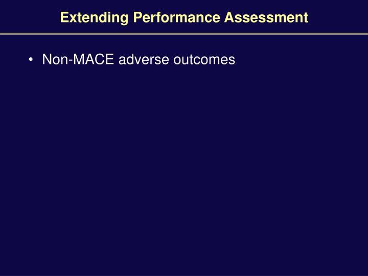 Extending Performance Assessment