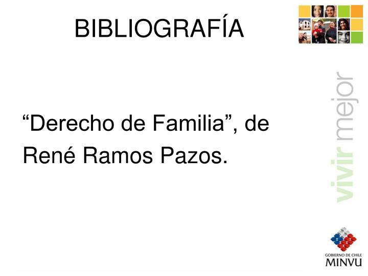 """""""Derecho de Familia"""", de"""