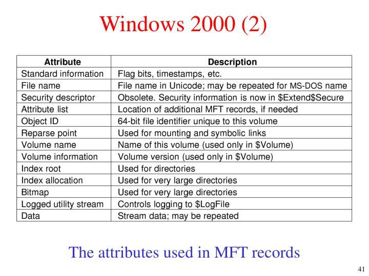 Windows 2000 (2)