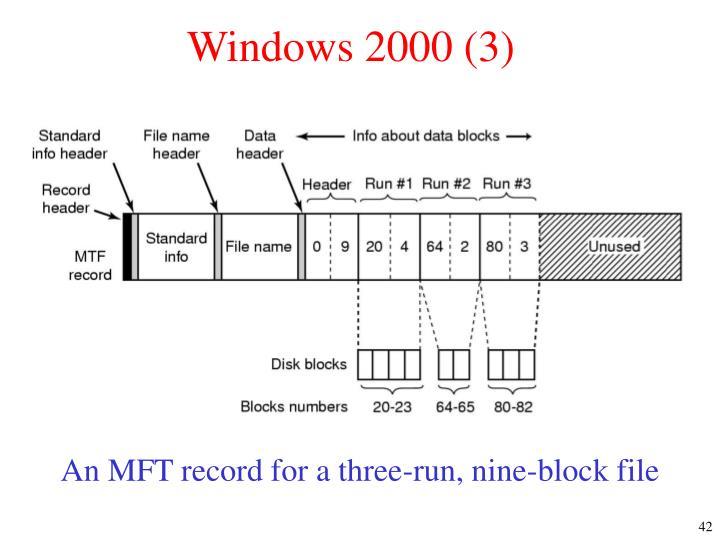 Windows 2000 (3)