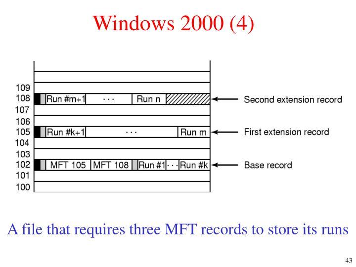 Windows 2000 (4)