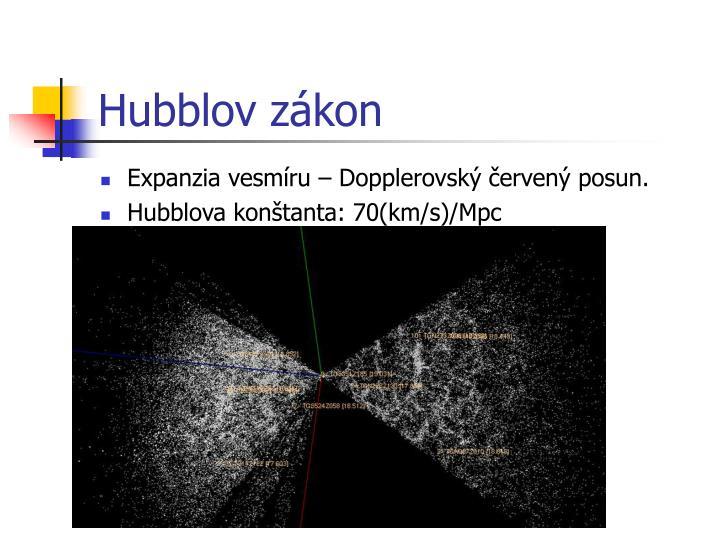 Hubblov zákon