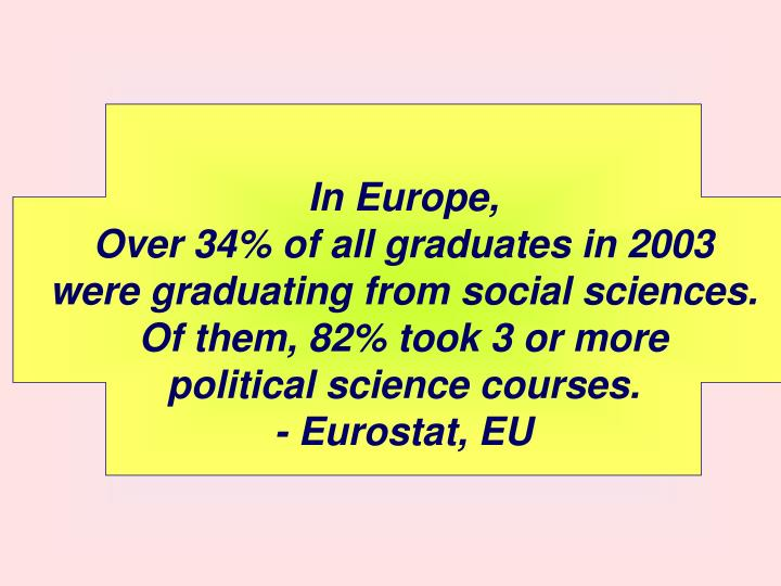 In Europe,