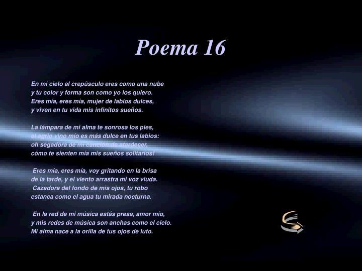 Poema 16