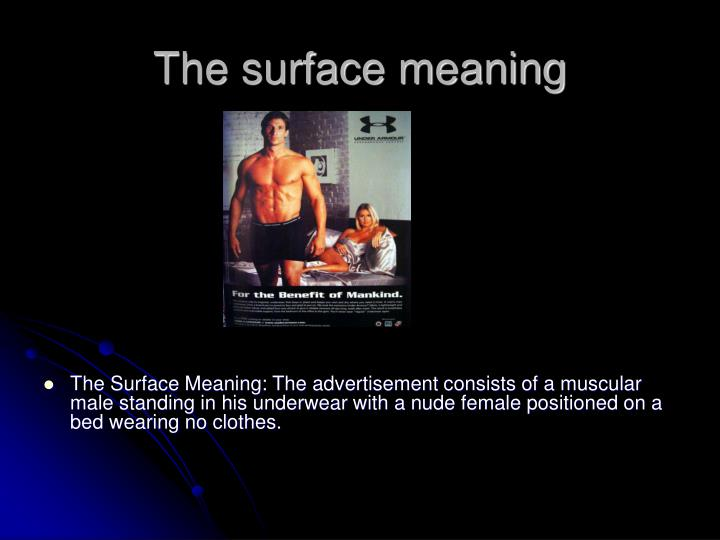 The surface meaning