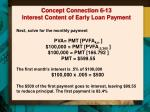 concept connection 6 13 interest content of early loan payment1