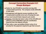 concept connection example 6 21 simple multipart